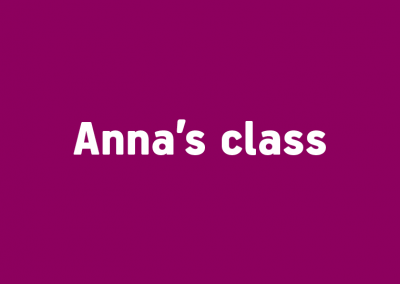 Anna's class